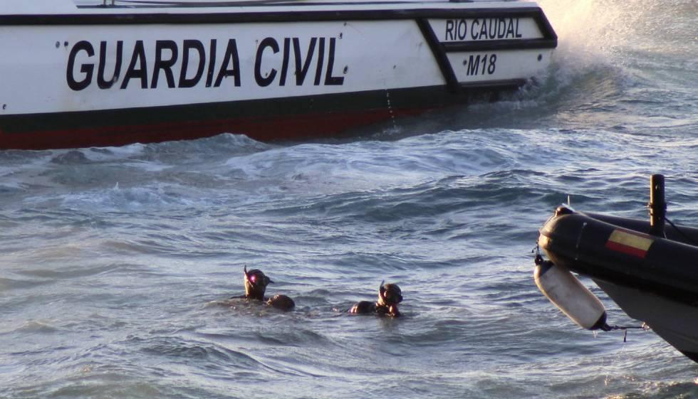 Resultado de imagen para motos de agua migrantes ahogados ceuta marruecos