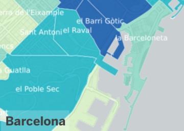 Estos son los puntos con m s turistas de espa a blog for Pisos asiaticas barcelona