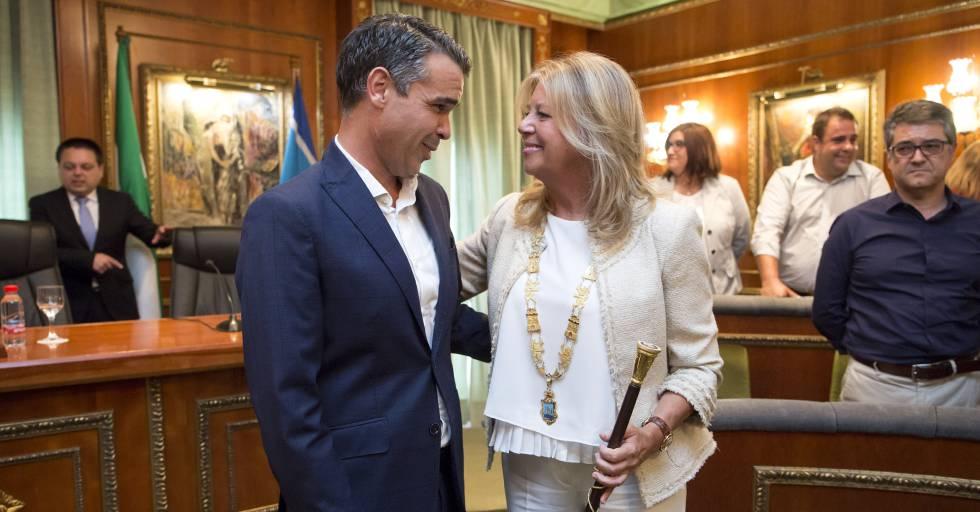 Resultado de imagen de Ayuntamiento Marbella. Jose Bernal y  Angeles Muñoz
