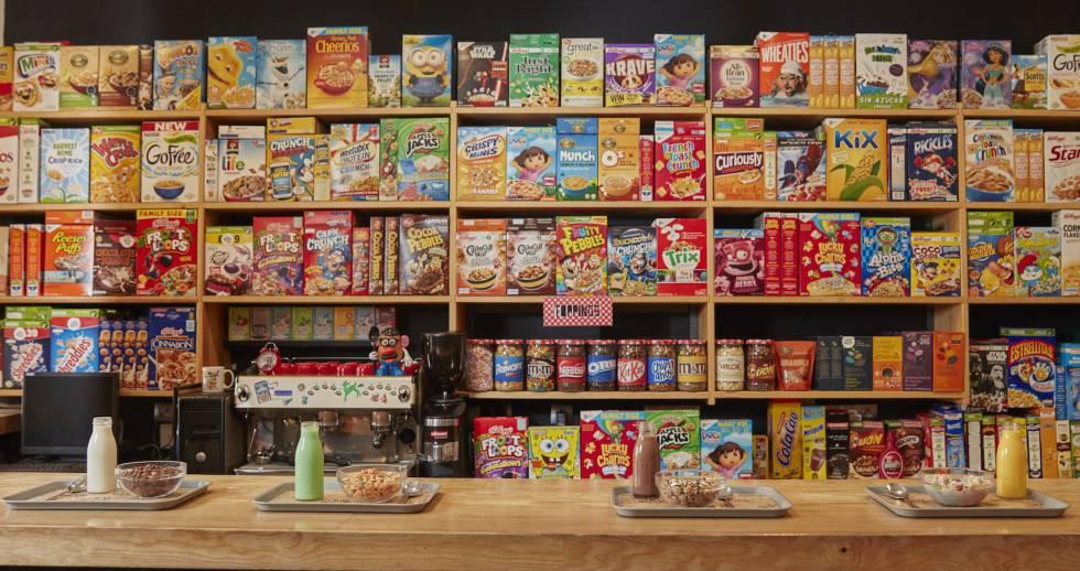 Resultado de imagen para bar de cereales
