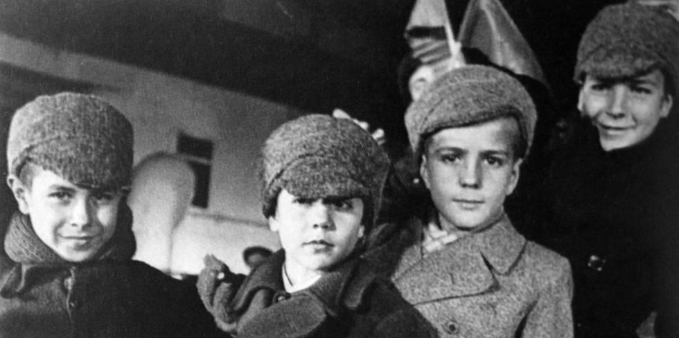 """Resultado de imagen de Quiénes fueron los """"niños de la guerra"""" españoles?"""