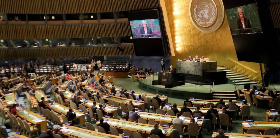 Vista de la Asamblea General de la ONU, en una imagen de archivo.