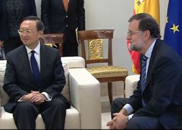 Sigue la comparecencia de Rajoy con el Consejero de Estado chino