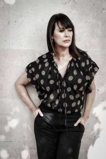 Mabel Lozano, el pasado viernes en Madrid.