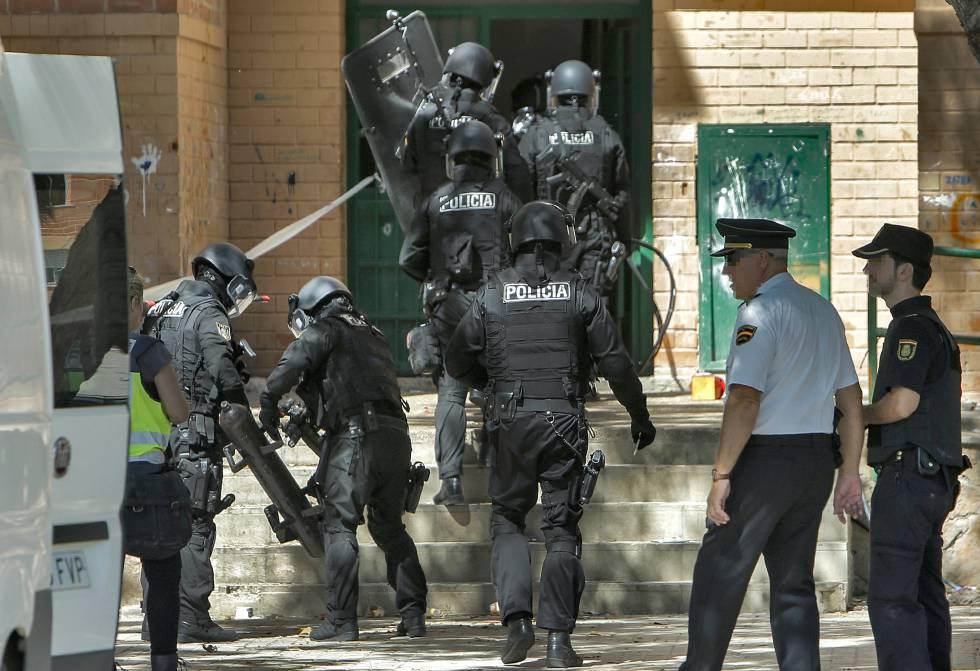 Muerte brutal en el Barrio de la Coma (Valencia, Paterna)