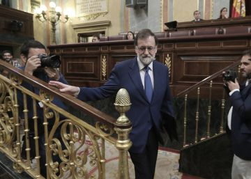 "Rajoy, al Govern: ""Regresen a la ley y a la democracia"""