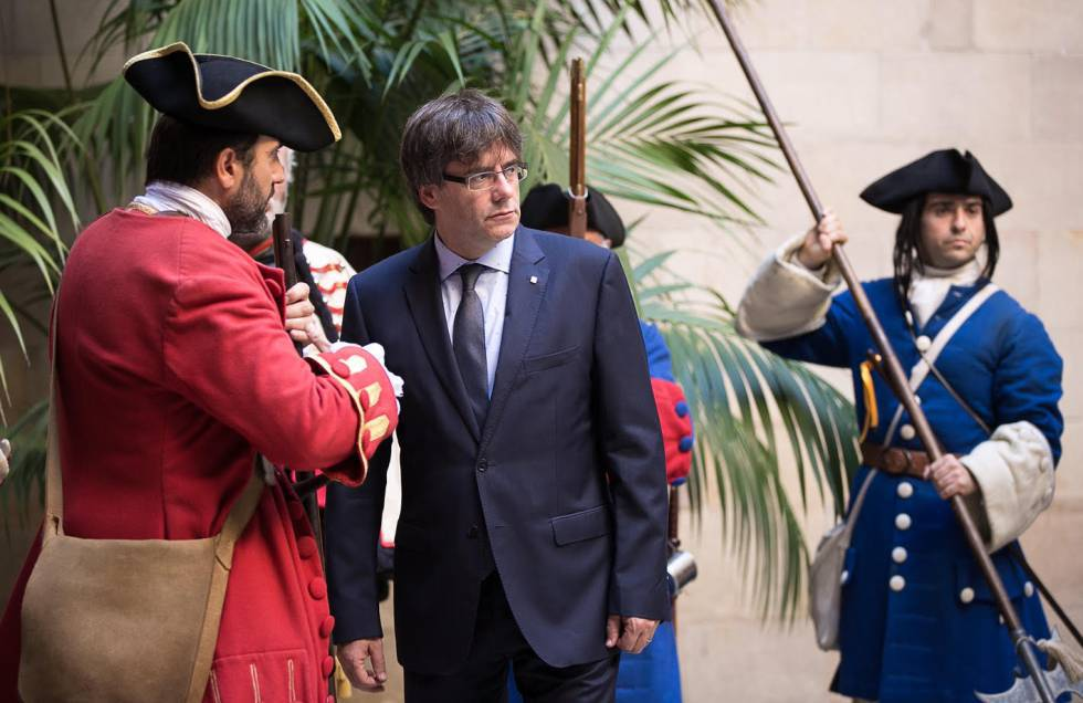 Catalan Premier Carles Puigdemont in 2016.