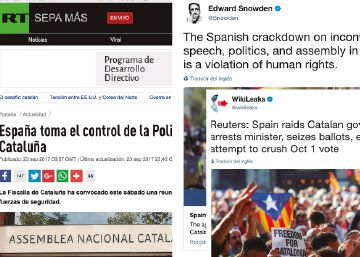 How Russian news networks are using Catalonia issue to destabilize Europe