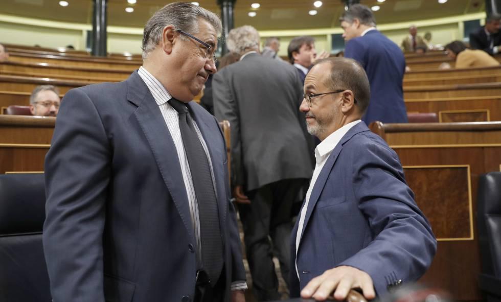Espanya demana als socis de la ue que frenin l arribada de for Ministre interior