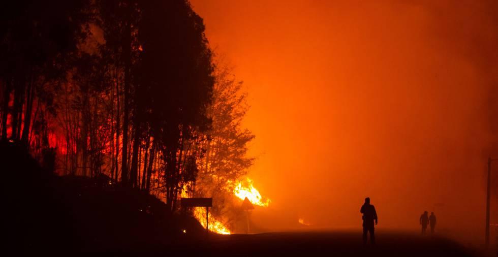 Resultado de imagen de imágenes vigo incendio