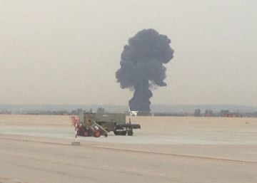 F-18 combat jet crashes near Madrid airbase, killing pilot