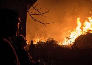 Galicia lucha contra los incendios