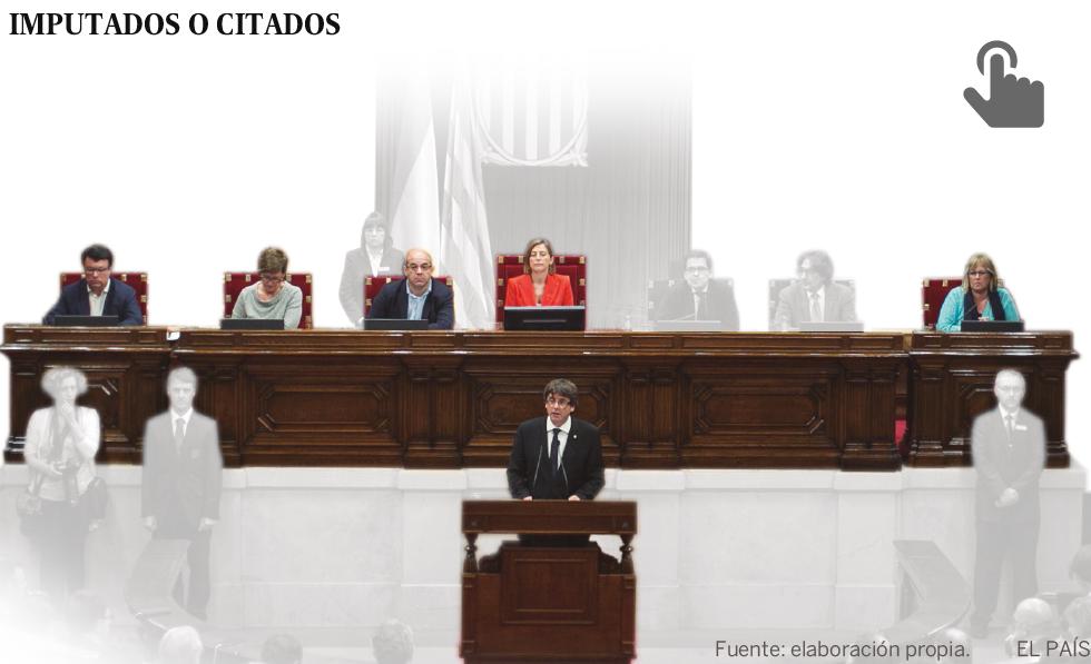 La acción judicial, pendiente de la escapada belga de Puigdemont