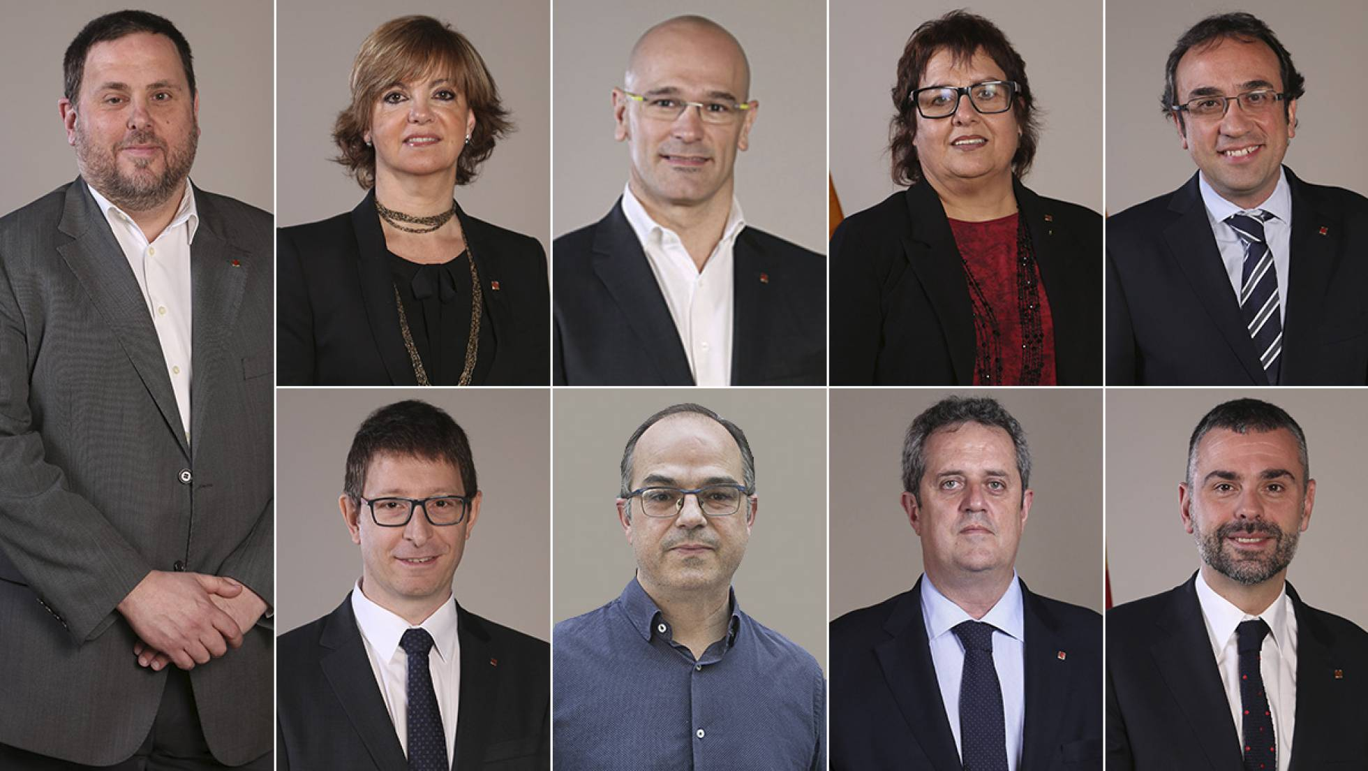 El Govern de Puigdemont, entre la cárcel y Bruselas 1509638581_049331_1509641867_noticia_normal_recorte1