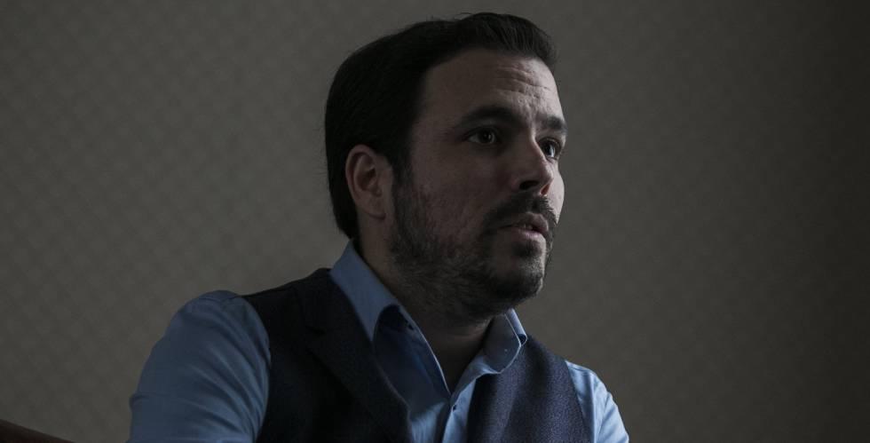 """Alberto Garzón: """"Cuando pienso en un preso político, pienso en ..."""