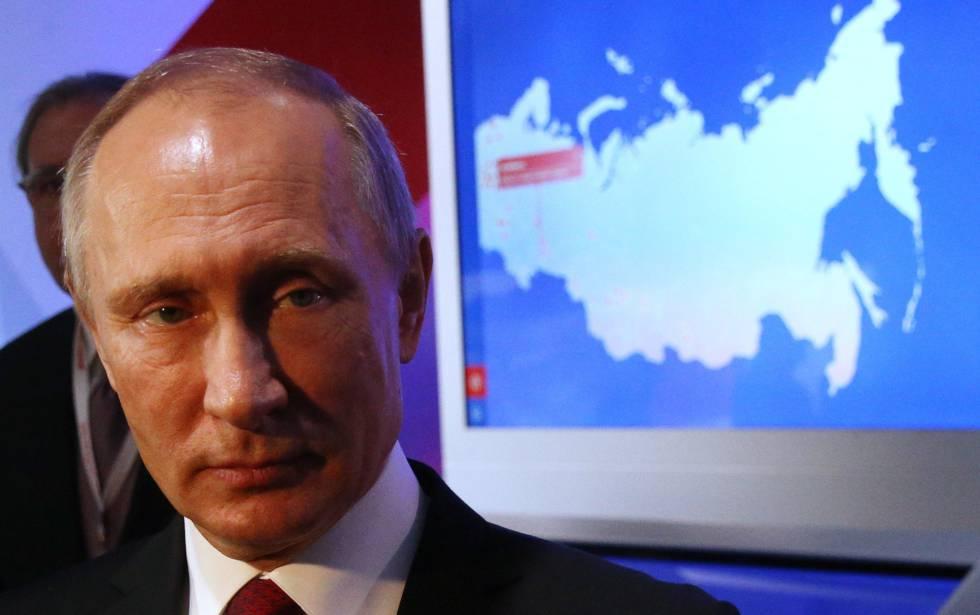 Putin, el pasado día 3 en Moscú.