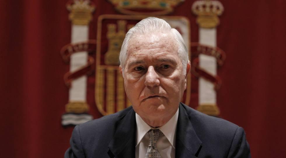 El presidente del Consejo del Poder Judicial, Carlos Divar, en una imagen de 2012.