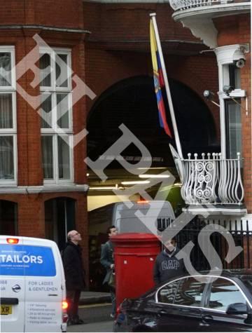 Un ideólogo clave en la secesión se reunió con Assange en Londres