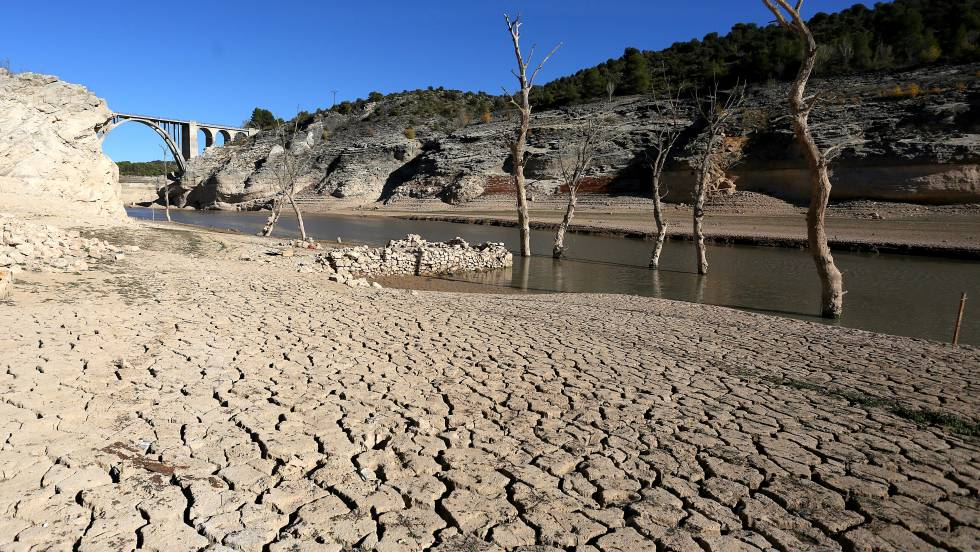 La reserva de agua del Duero y del Miño, en mínimo histórico