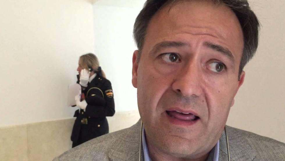 Víctor Duque, líder del sindicato Unión Federal de Policía (UFP).
