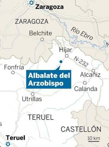 Un hombre mata a tiros a tres personas, dos de ellos guardias civiles, en Teruel