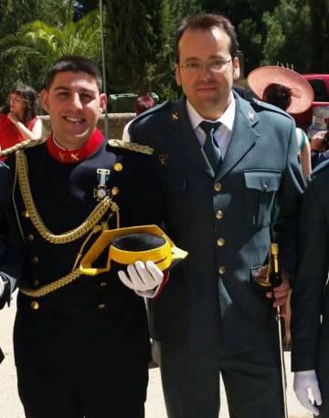 Víctor Romero Pérez y Víctor Jesús Caballero Espinosa, los dos guardias civiles que mató Igor el Ruso.