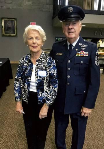 Victor Skaar and his wife in November.