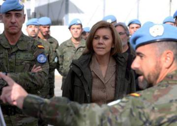 Cospedal anuncia un incremento de las tropas en el exterior en 2014 39afc679755