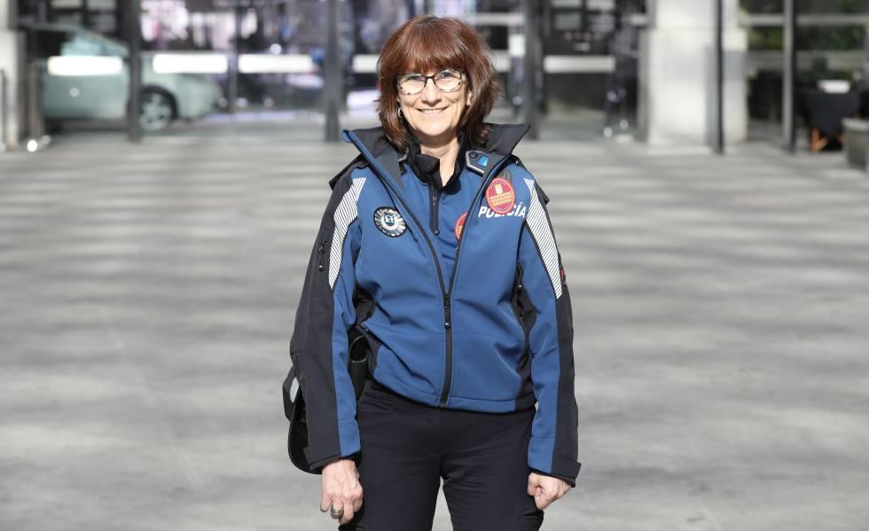 Paloma Morales es la primera mujer subinspectora en los 175 años de historia de la Policía de Madrid.