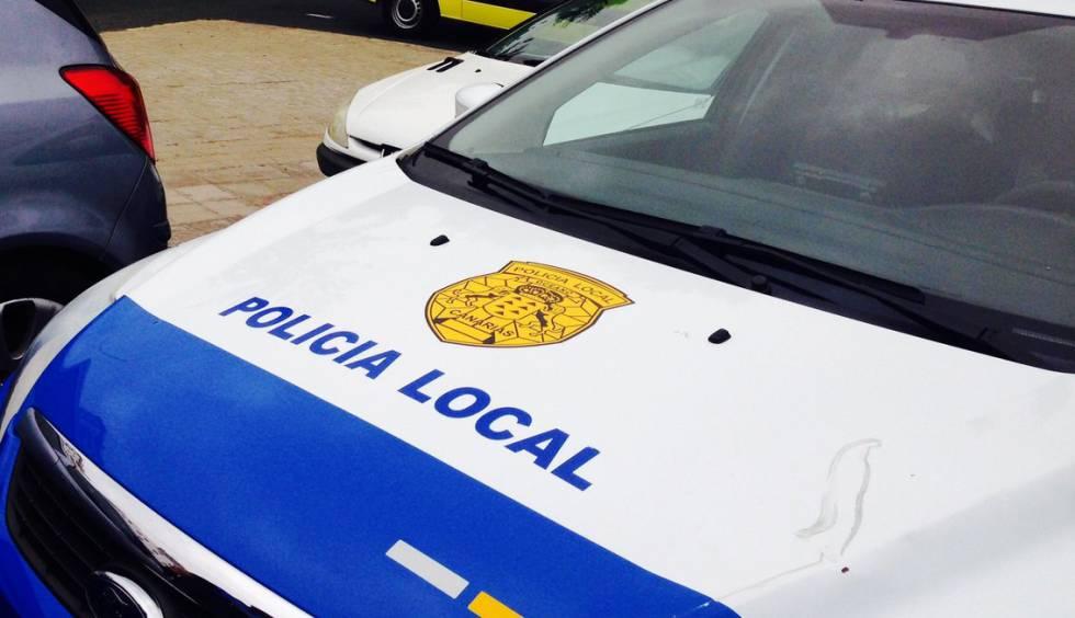 Un vehículo de la Policía Local, en una imagen de archivo.