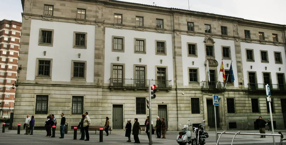 Edificio de la Audiencia Provincial de Pontevedra.