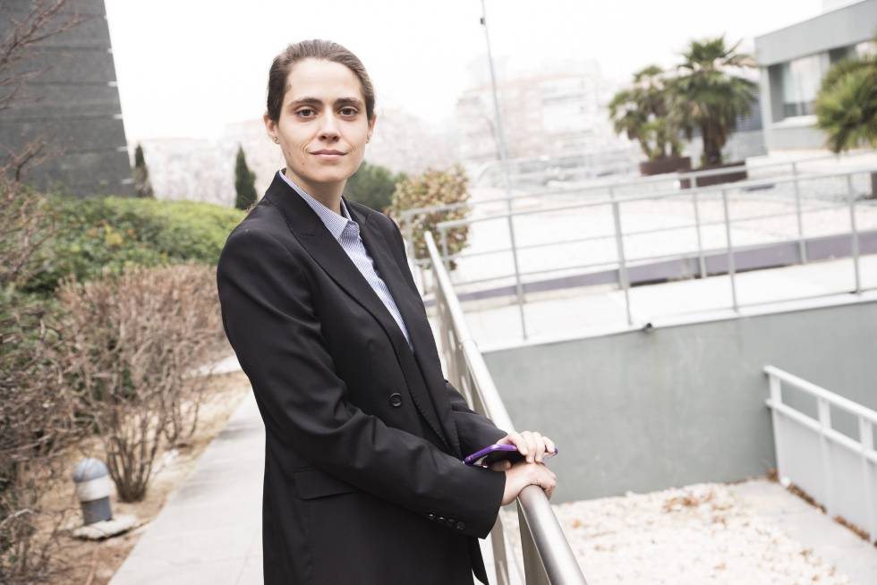 Macarena Barba, de 27 años, tiene síndrome de Asperger.