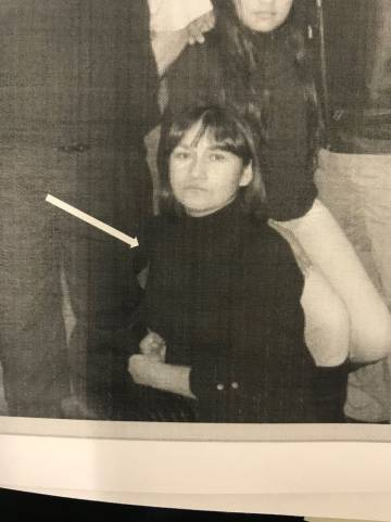 Foto del archivo policial de María Hilda Pérez Zamora