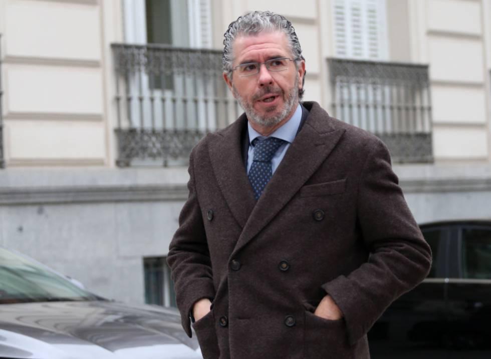 Francisco Granados, el 27 de febrero en la Audiencia Nacional.