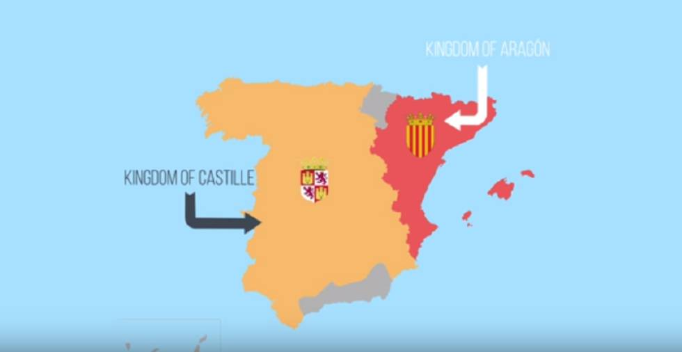 Pie de Foto: Una captura de pantalla del vídeo 'What is happening in Catalonia?'.