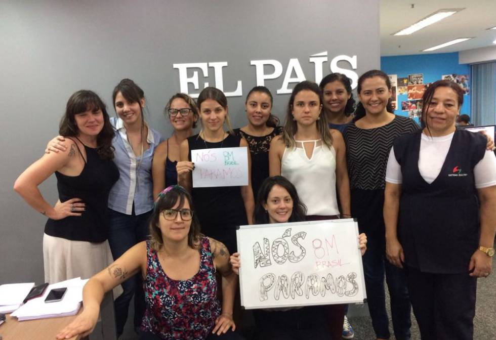 EL PAÍS journalists in Sao Paulo, Brazil.