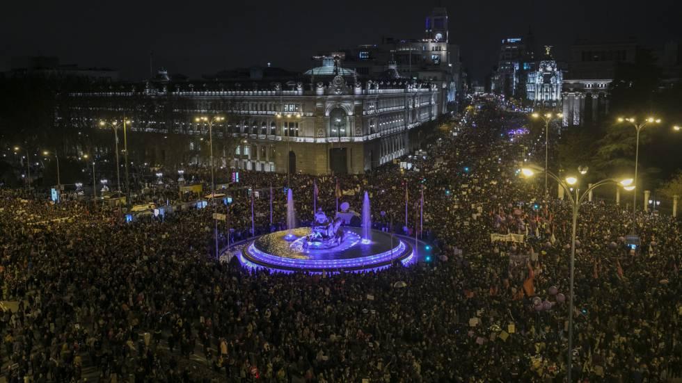 Resultado de imagen de 8 de marzo madrid
