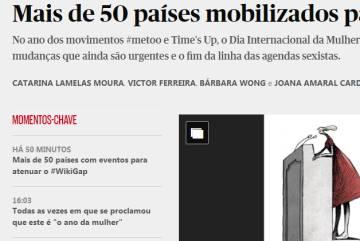 La primera huelga feminista en España, en los principales medios internacionales