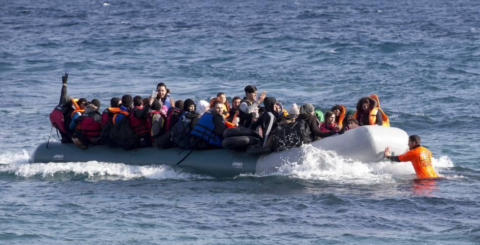 España Recibió En 2017 Más Peticiones De Asilo Que Inmigrantes Por Vía Irregular España El País