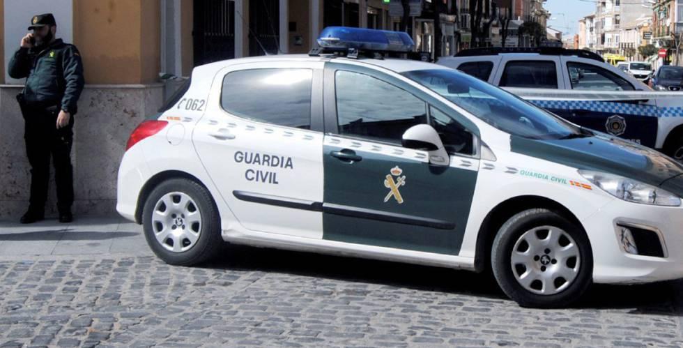 Un vehículo de la Guardia Civil, en una imagen de archivo.