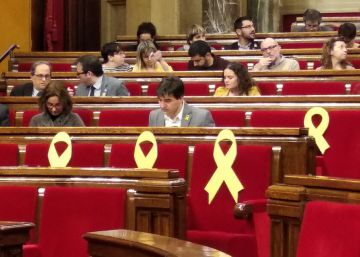 "Catalan parliament approves Puigdemont's ""right"" to be premier"