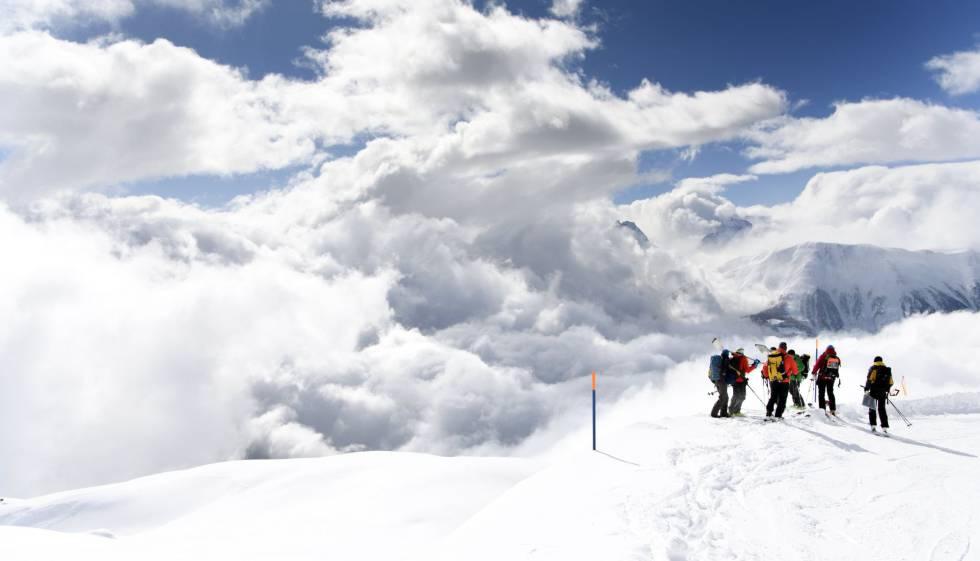 avalancha alpes suizos