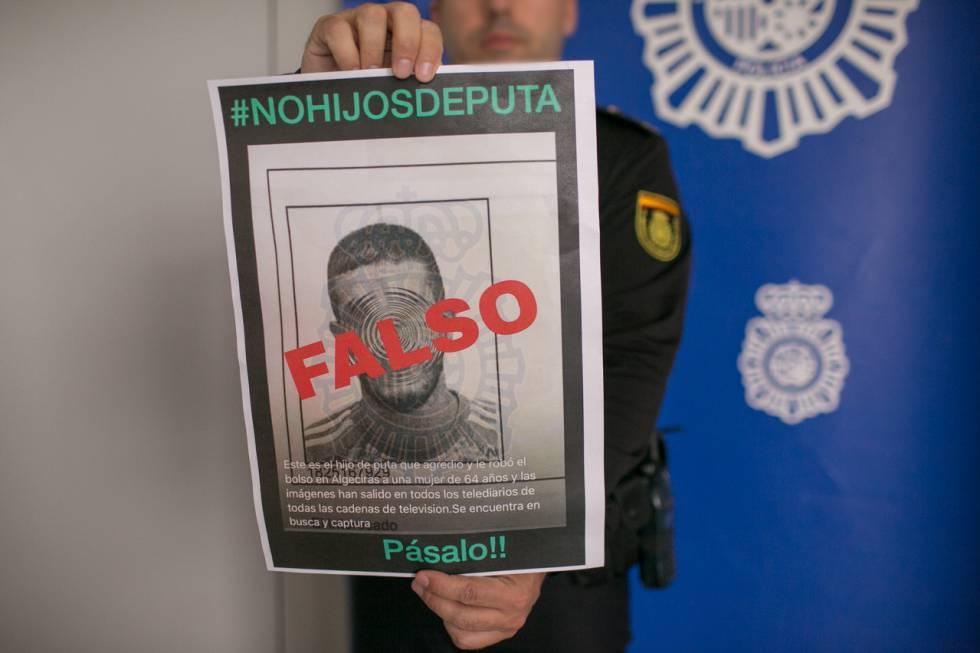 La Policía Nacional tuvo que desmentir que Francisco fuese el hombre que buscaban por dar una paliza a una anciana.