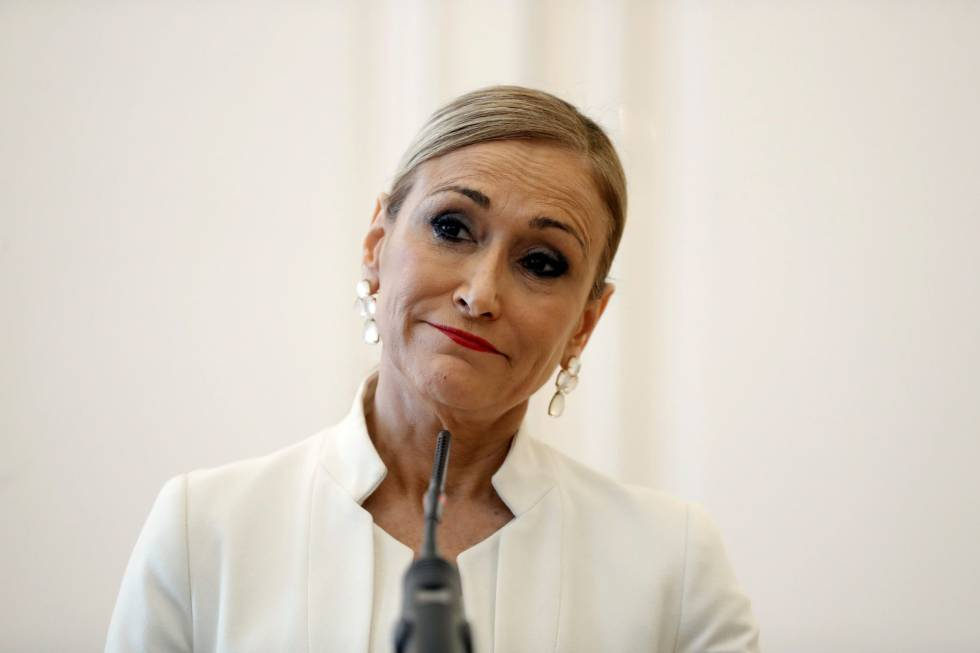 Scandals Force Former Madrid Premier Cristina Cifuentes To