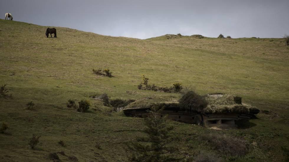 El exterior de una fortificación con capacidad para 30 militares.