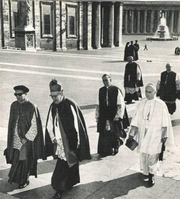 Garaygordobil en el Vaticano.