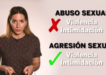 Las diferencias entre abuso sexual, agresión y violación, en dos minutos