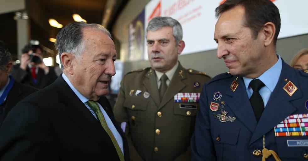 El director del CNI y el jefe del mando de Ciberdefensa.