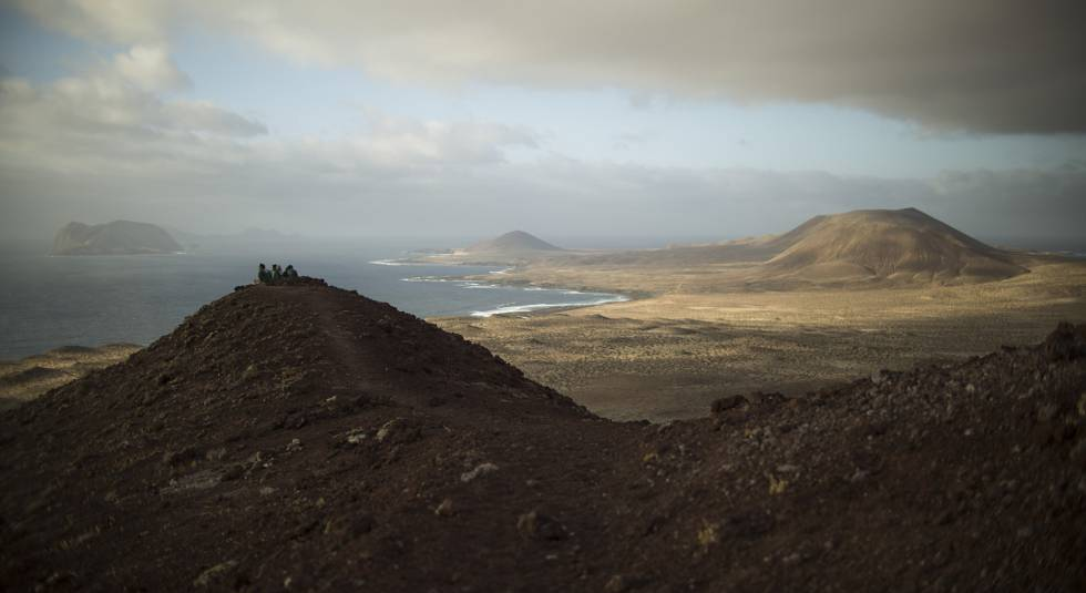 View of La Graciosa.