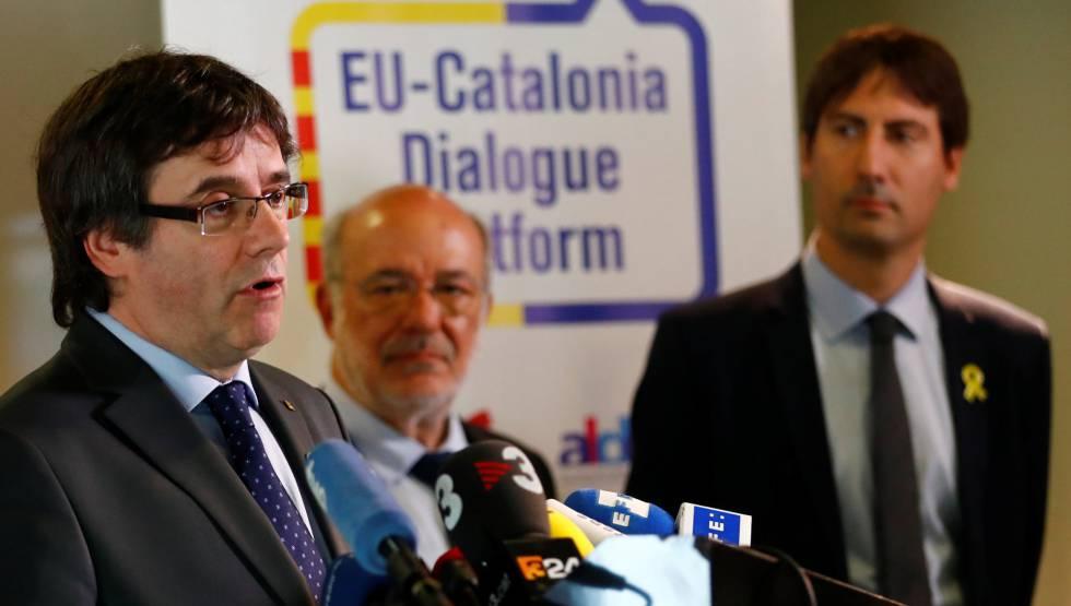 El expresidente Carles Puigdemont, a mediados de mayo.